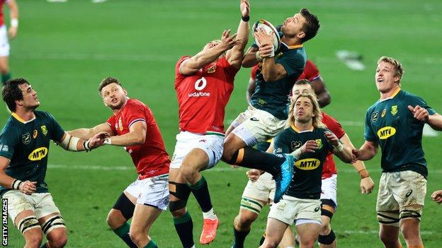 British and Irish Lions and South Africa