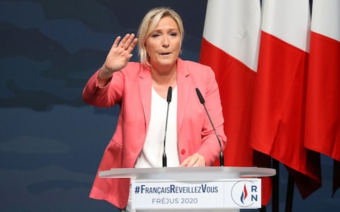 Marine Le Pen is seeking to unseat Emmanuel Macron at next year's presidential election