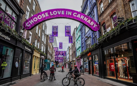 Popular shopping destinations such as the West End are trying to lure fearful shoppers back